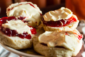 Cornish Traditional foods Cream tea