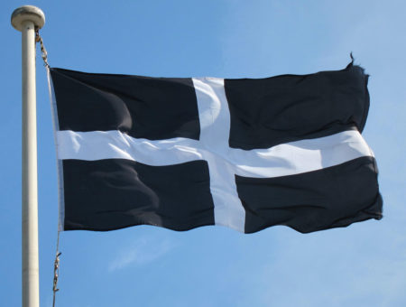 Cornwall Saint Piran Flag