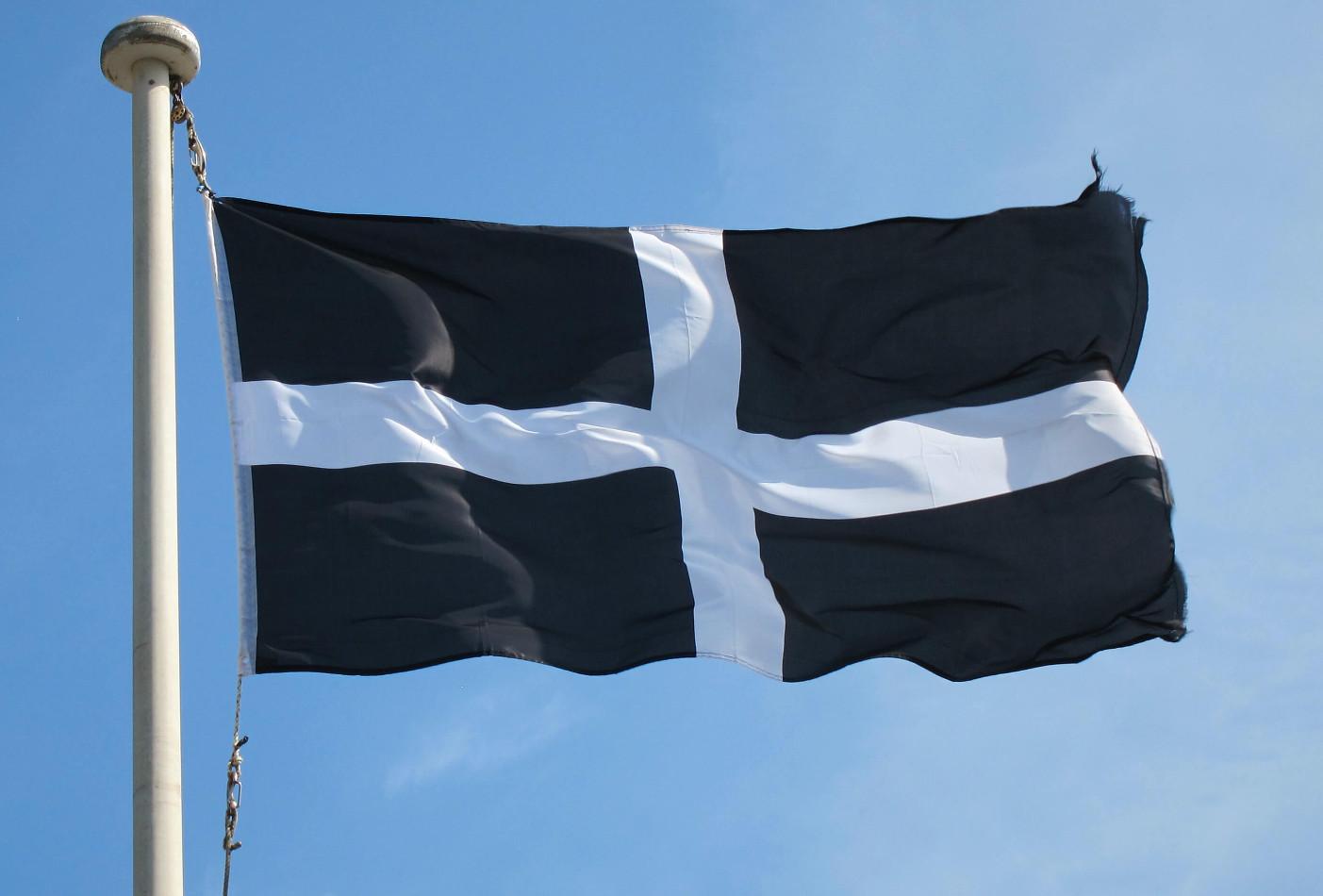 Cornwall Saint Piran Flag