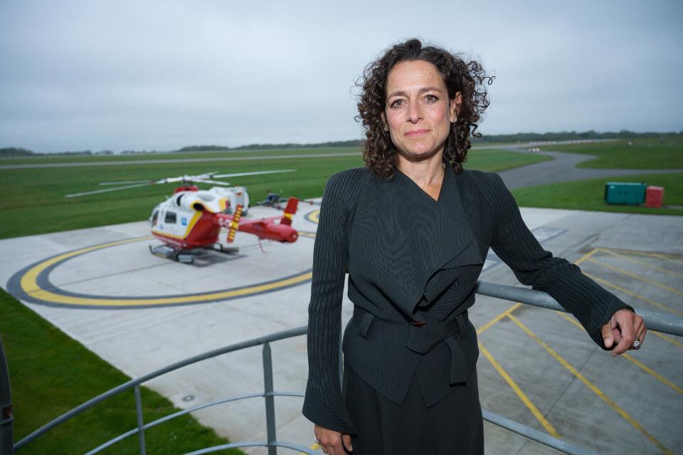 Alex Polizzi Cornwall Air Ambulance
