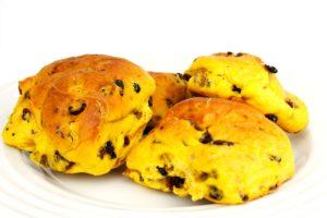 Cornish delicacy saffron buns