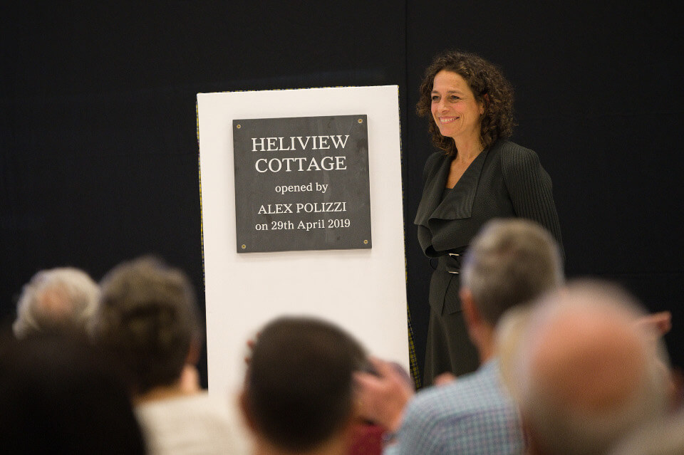 Heliview Cottage Opening Alex Polizzi