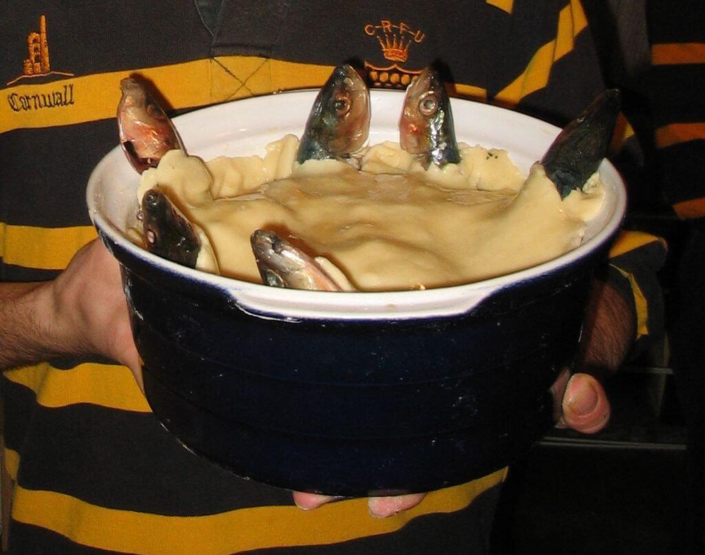 Stargazy Pie Cornish delicacy