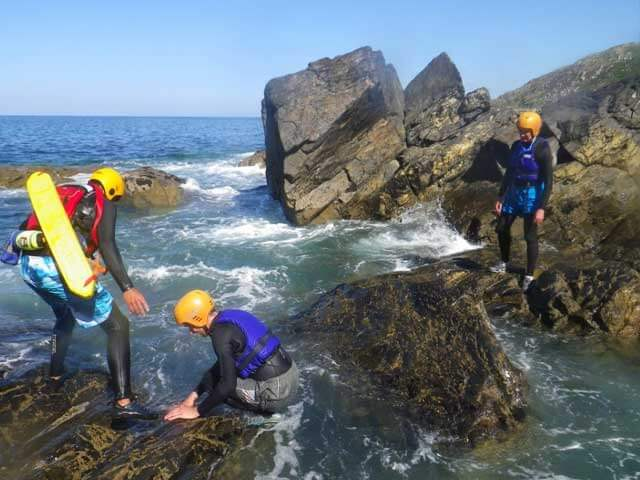 Kernow Coasteering Cornwall