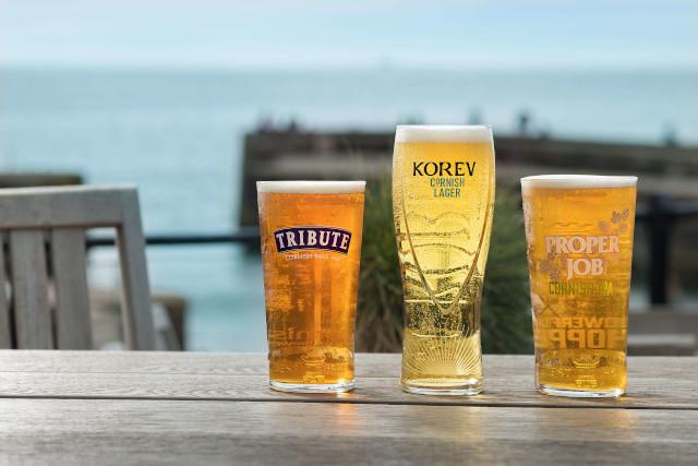 St Austell beers