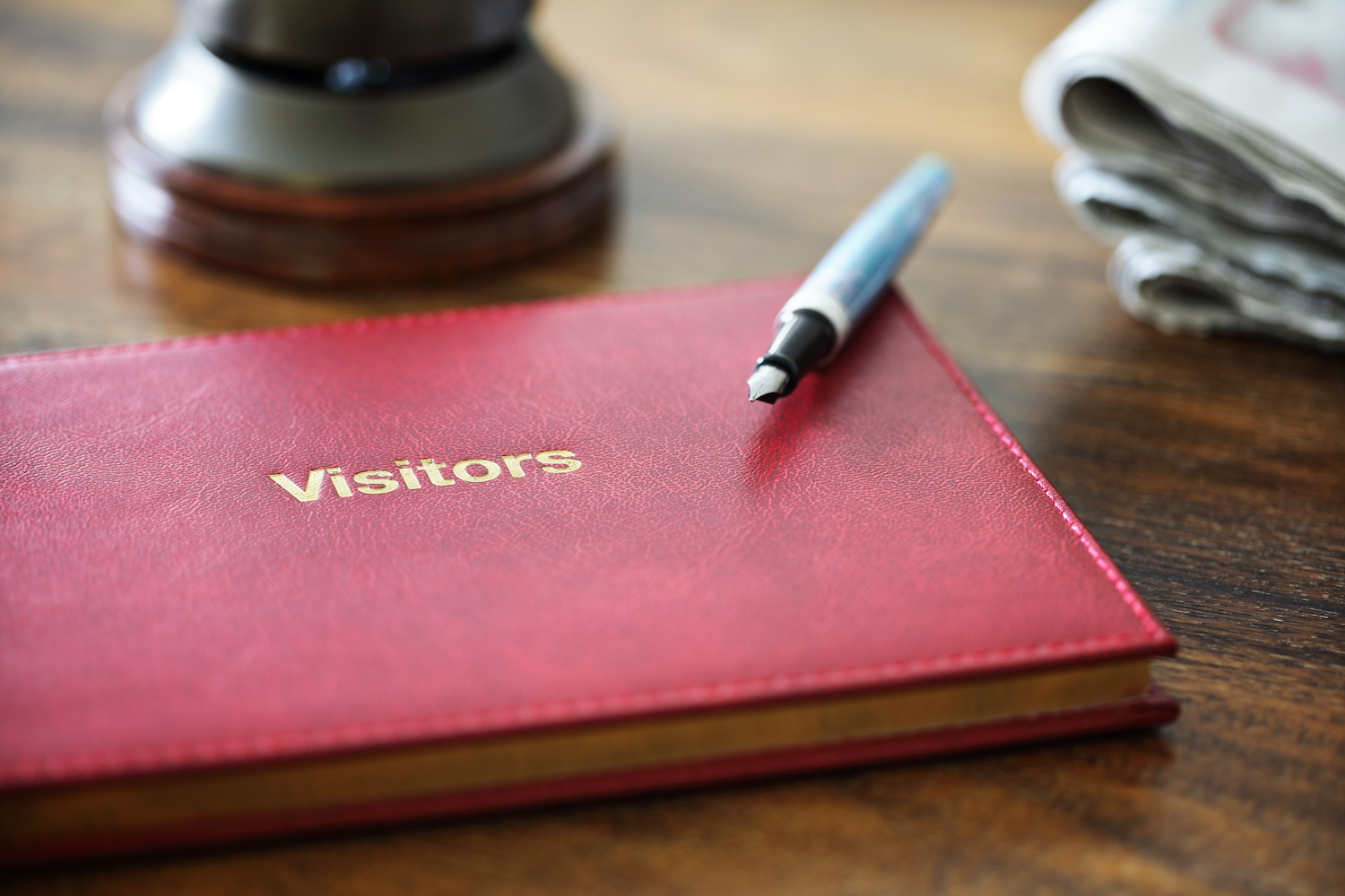 Guest books are important in a holiday property
