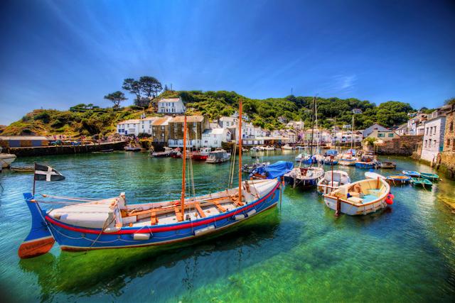 Polperro fishing port