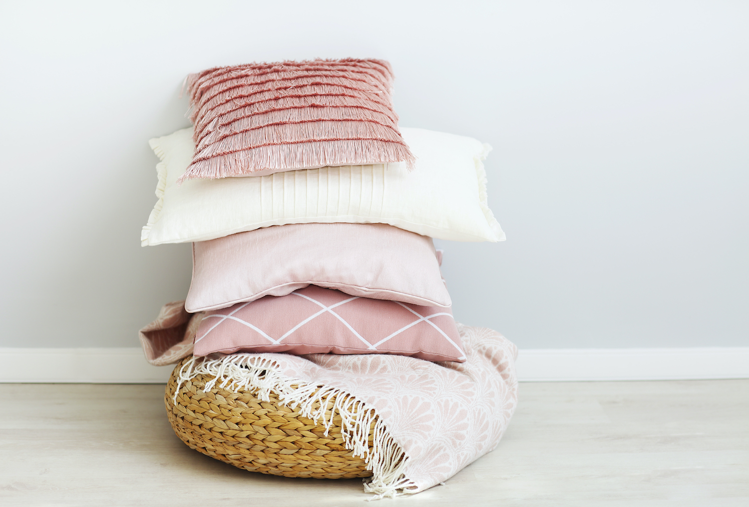 get ready for spring - linen and cushions