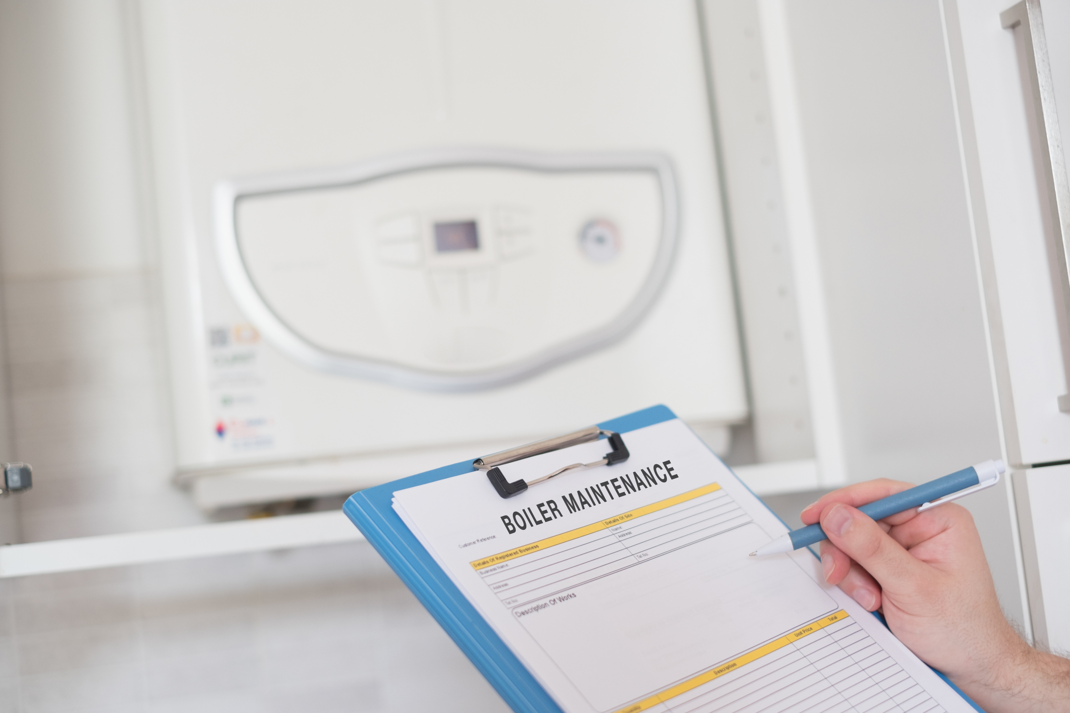 Boiler maintenance at your holiday home
