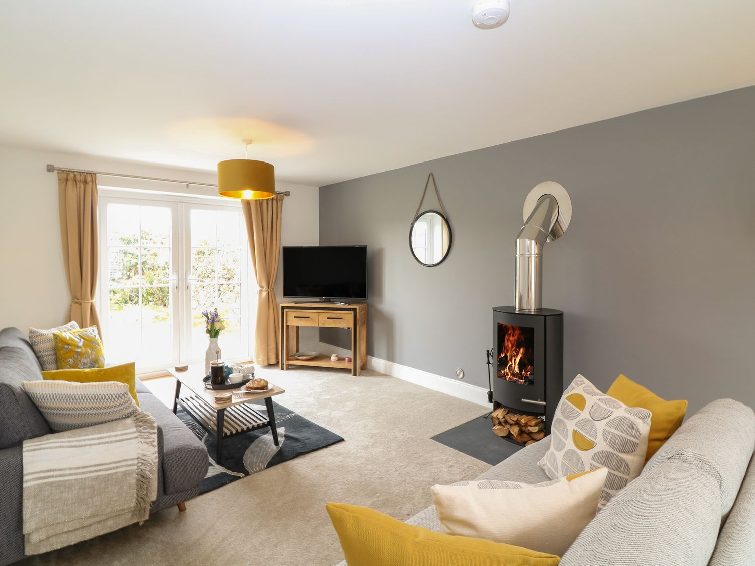 woodburner in your holiday home - get ready for spring