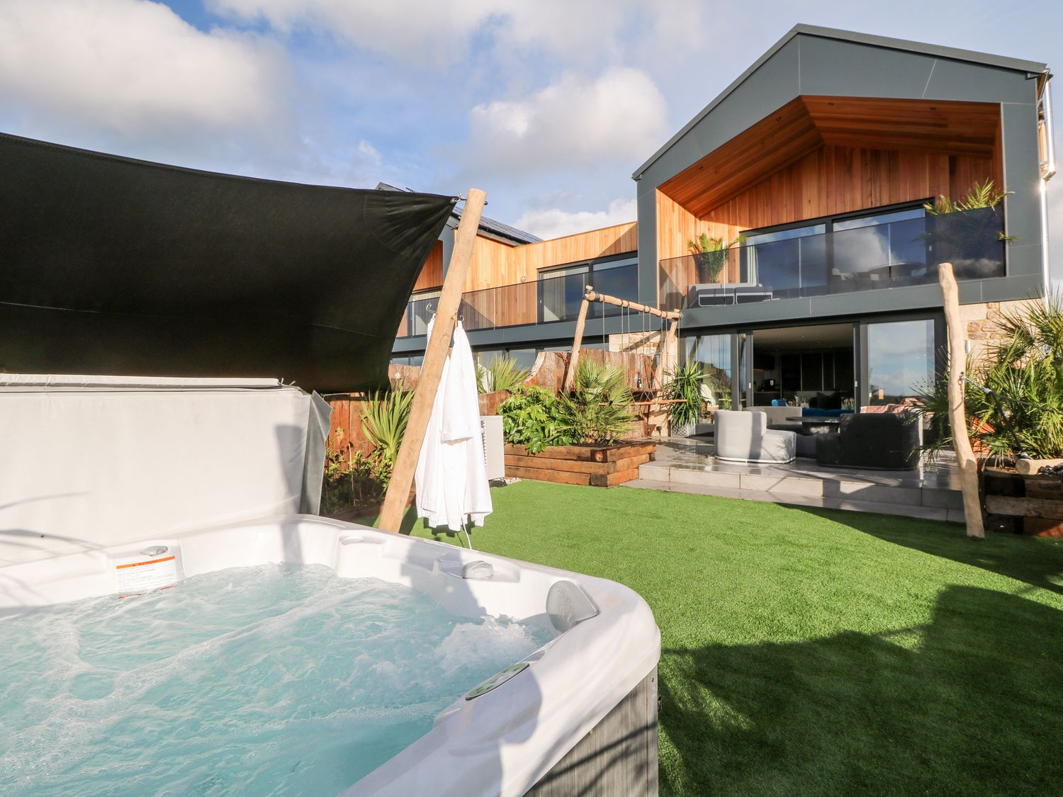 A hot tub is a welcome addition to a holiday property - get ready for spring