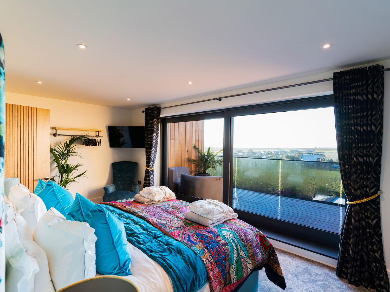 Master bedroom at Sea Eden