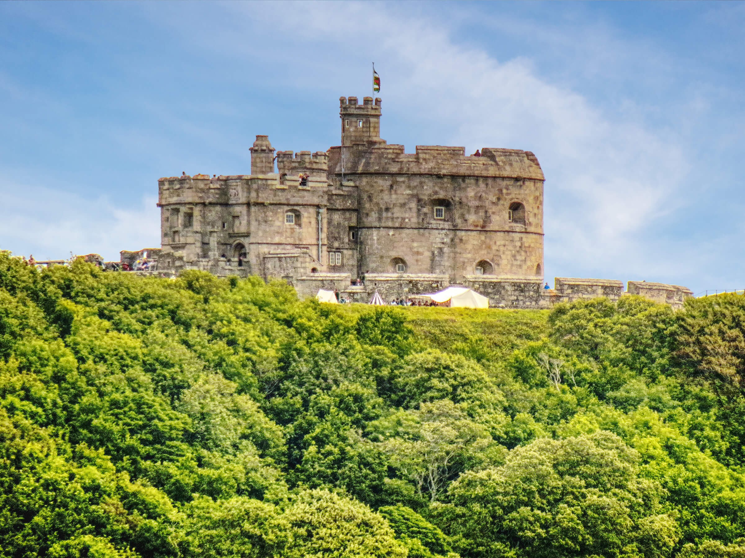 Castles in Cornwall - Pendennis Castle