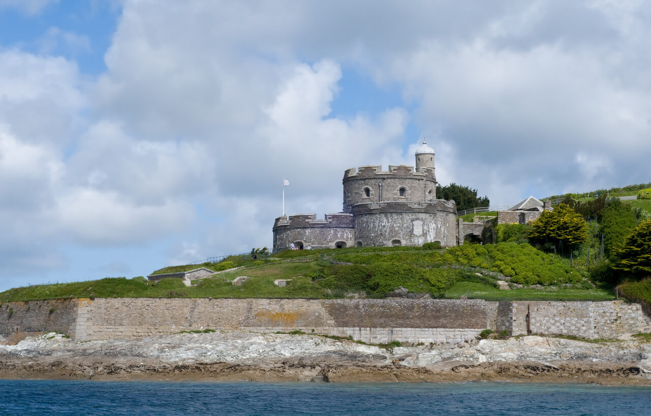 Castles in Cornwall - St Mawes Castle