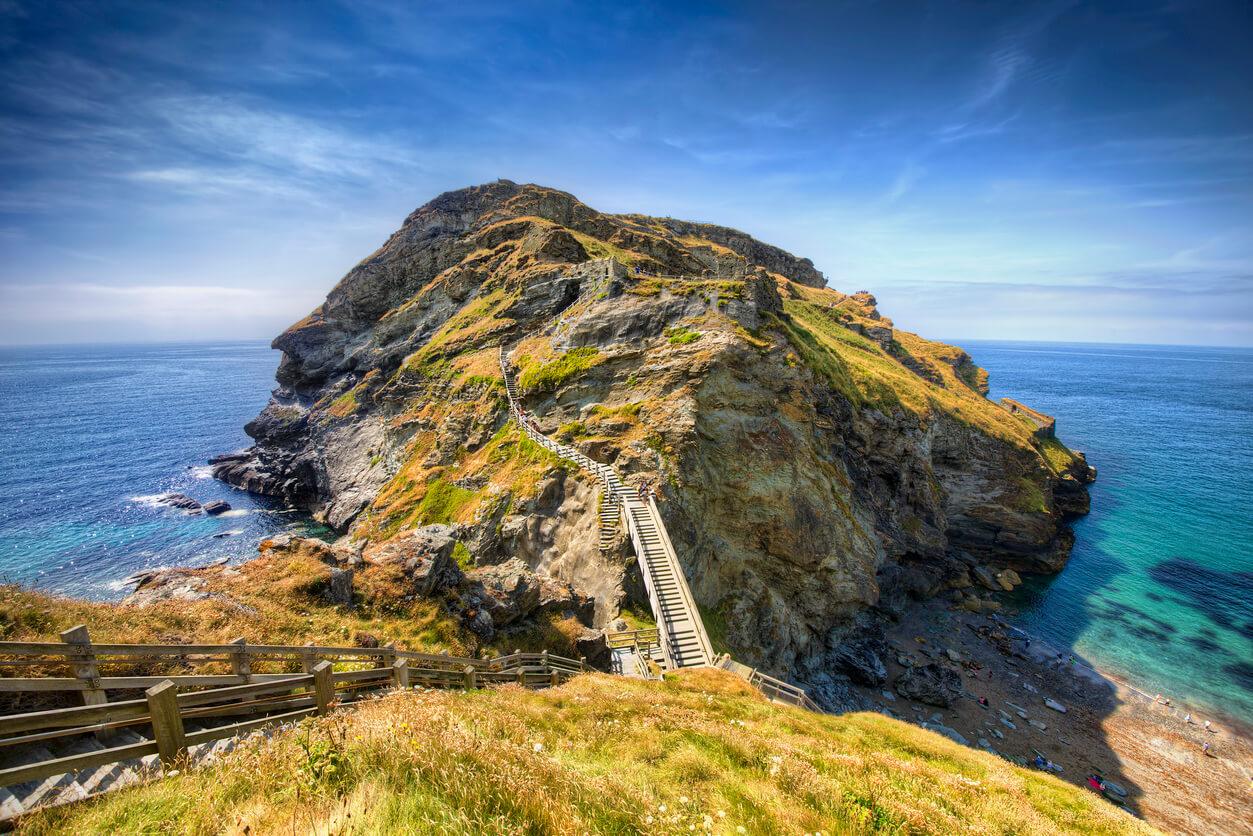 Castles in Cornwall - Tintagel Castle