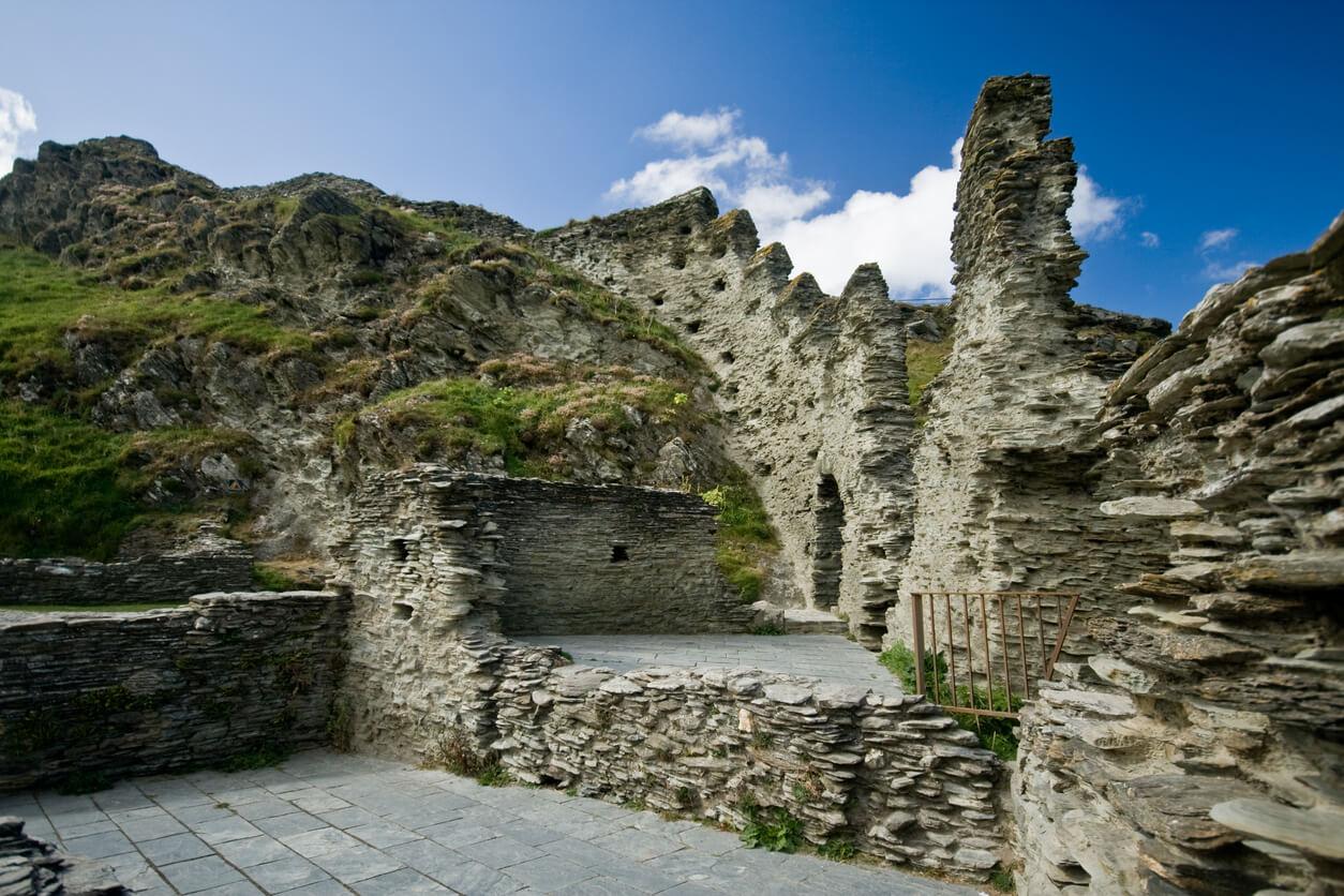 Best walks in Cornwall - Tintagel Castle